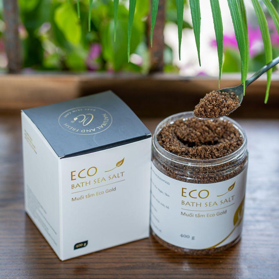 Đặc điểm của Muối tắm thảo dược Eco Gold Sinh Dược